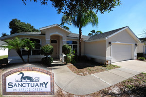 1409 Florida Moss Lane, Bank-Owned Home in The Sanctuary on Spruce Creek