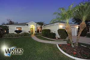 1664 Arash Circle, Lakefront Home with Pool in Waters Edge, Port Orange