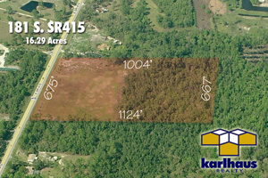 181 South SR415, Vacant Parcel near the New Smyrna Speedway
