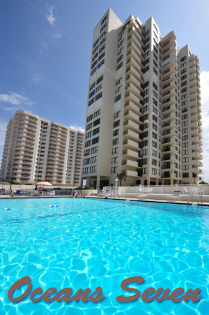 2947 S. Atlantic, Unit 402 - Oceanfront Condo in Daytona Beach's Oceans Seven