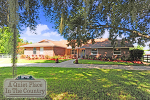 340 Quiet Trail Circle, 4-br Equestrian Ranchette in Quiet Place in the Country, Port Orange, FL