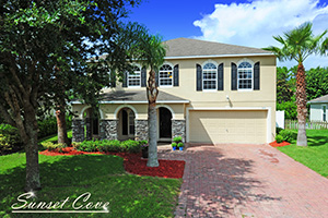 3878 Sunset Cove Drive | 4-br Home with Loft and Pond