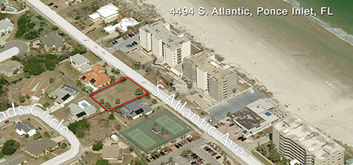 4494 S. Atlantic Blvd. Vacant Beach Lot in Ponce Inlet