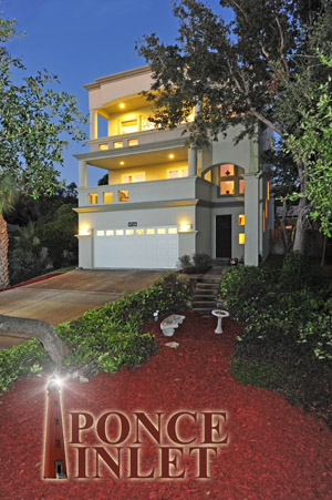 4739 S. Penninisula Drive, Majestic Contemporary Home in Ponce Inlet
