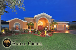 6070 Sabal Creek, Waterfront Pool Home in Sabal Creek