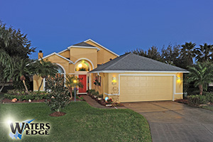 6488 Justin Court, Lakefront Home with Pool in Waters Edge, Port Orange