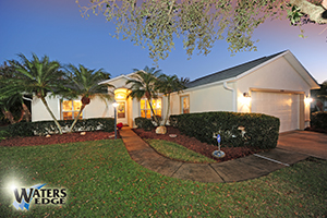 6490 Justin Court, Lakefront Home in Waters Edge, Port Orange