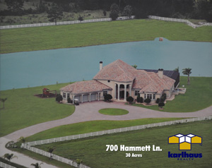 700 Hammett Lane - Magnificent Country Estate with Private Seaplane/Powerboats Lake