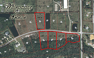 Whispering Creek Estates | West Spruce Creek Circle, Port Orange, FL |, Acreage - Vacant Lots