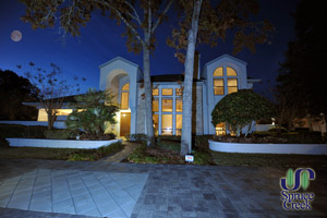 1785 Mitchell Court, Contemporary Spruce Creek Hangar Home