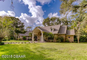 1819 Spruce Creek Blvd., Creek-view Home with Pool