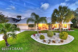 1828 Wiley Post Trail, Contemporary Ranch Hangar Home in Spruce Creek