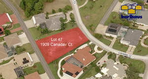 1909 Canadair Court, Taxiway Lot in Spruce Creek