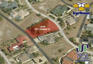 1917 Canadair Court, Taxiway Lot in Spruce Creek