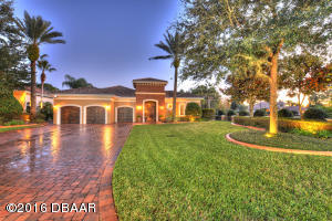 2010 Southcreek Blvd., Mediterranean Estate Home on the Spruce Creek Golf Course