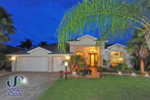 2134 Springwater Lane, Waterfront Home in Spruce Creek Fly-In