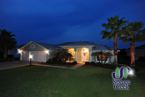 2145 Springwater Lane, Waterfront Pool home in Spruce Creek