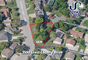 2550-Cross-Country Drive - Spruce Creek Taxiway Lot