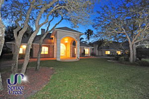 2689 Spruce Creek Blvd., Majestic Waterfront Estate Compound with Two Hangars in Spruce Creek Fly-In