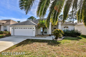3170 Steamboat Ridge Road, Nature Home in Turtle Pointe section of Spruce Creek