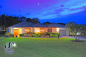 3180 Royal Birkdale | Exquisite 2-BR Patio Home in Wedgewood at Spruce Creek Fly-In